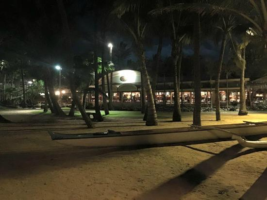 Paia, Hawái: outside at night