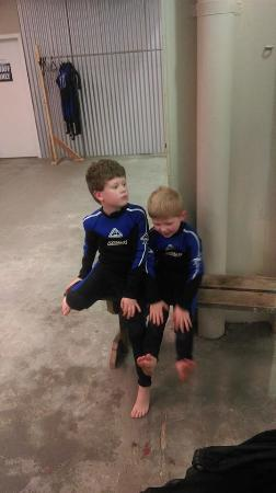 The Australian Shark & Ray Centre: waiting