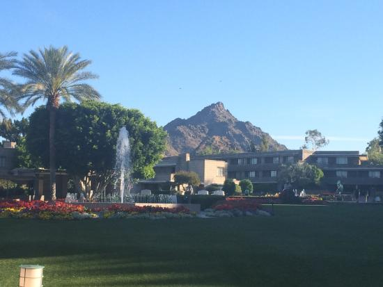 A map of the Arizona Biltmore campus. - Picture of Arizona ...