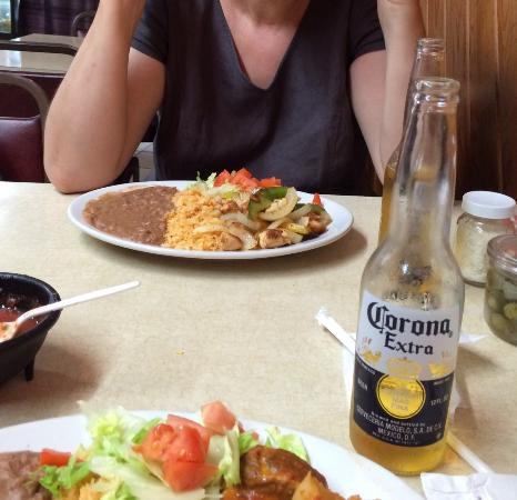 Rosita's Mexican Restaurant: Das Hühnchen war gut, Ribs naja