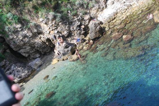 The pool near the Roman ruins - Picture of Bagni della Regina ...