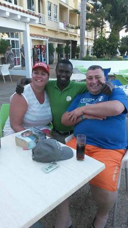 smartline Playa Park : Samba... The best barman ever!