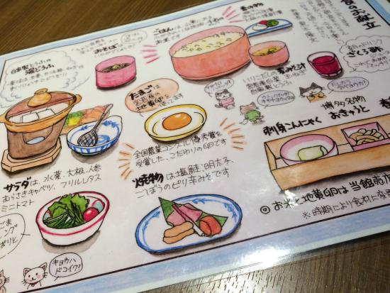 Miyawaka, Giappone: 朝食の献立