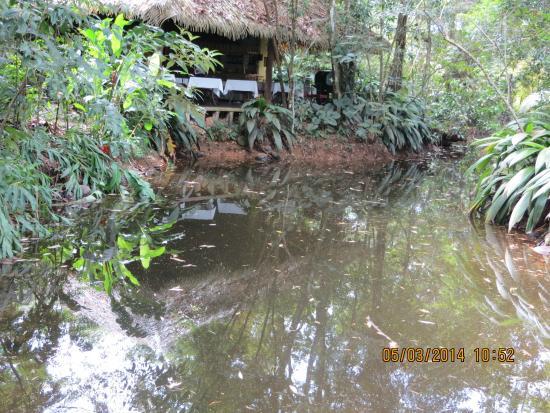 Hacienda La Isla Lodge: Hier wird gegessen