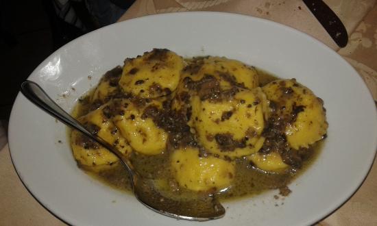Ristorante Il Parco del Voltigno : ravioli al tartufo