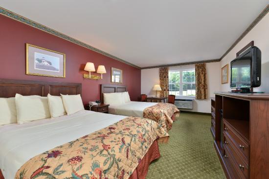 Acadia Inn: Queen Room