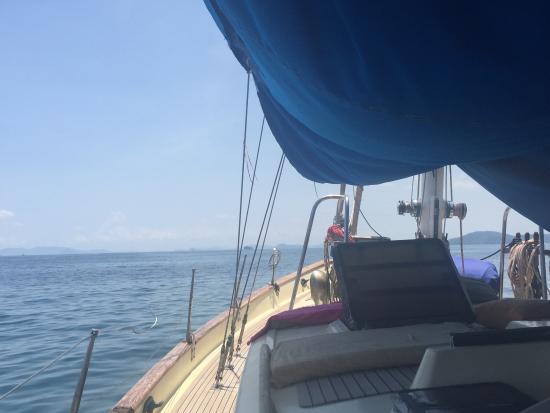 Hot Rock Climbing School: Long sail out