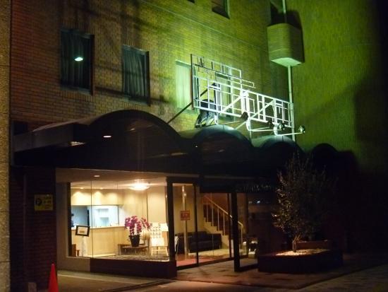 Hotel Sun Plaza Sakai Honkan: サイドビュー