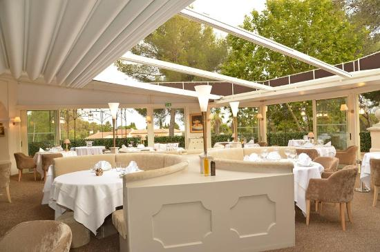 Restaurant l'Epicurien: salle panoramique vu sur les étoiles!!!