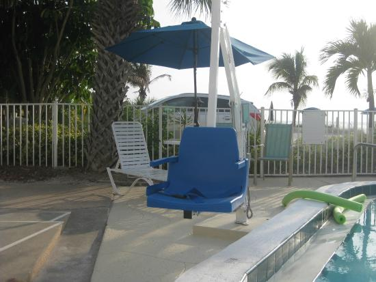 White Sands Beach Resort: For the disabled