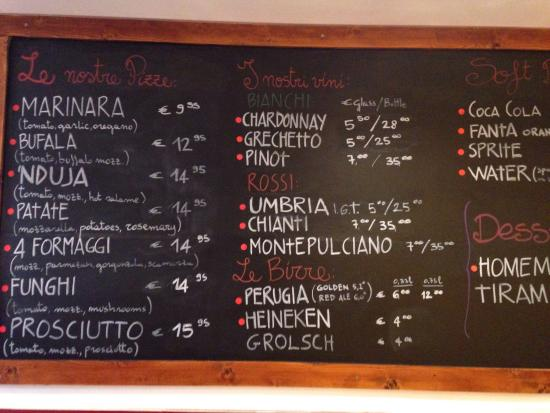 The menu picture of la zoccola del pacioccone pizzeria la zoccola del pacioccone pizzeria the menu sciox Images