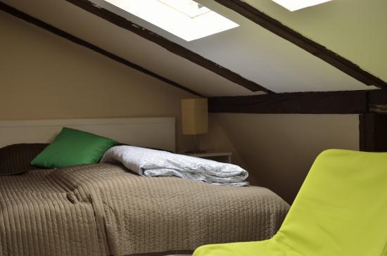 Pokoje Goscinne Wislna: Double room on the top floor