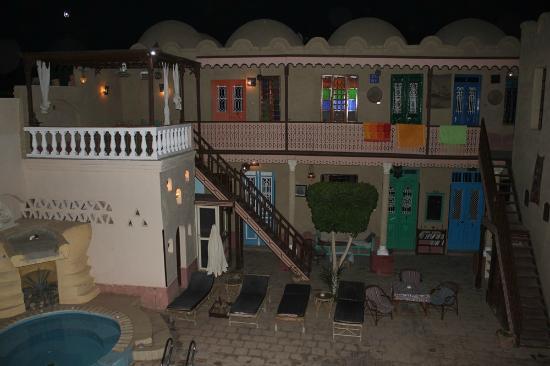Villa Nile House: Abendstimmung