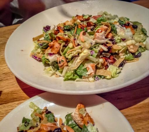 Wood Ranch BBQ & Grill: BBQ Chicken Chopped Salad - BBQ Chicken Chopped Salad - Picture Of Wood Ranch BBQ & Grill