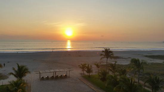 Blater Hotel : Sunset over the Pacific