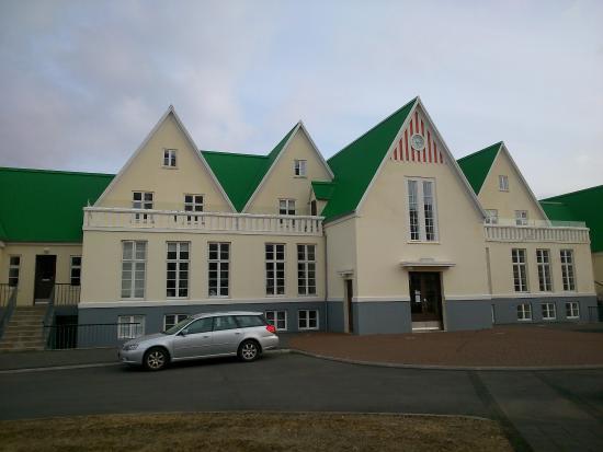 Heradsskolinn Hostel: Vista dall'esterno