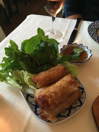 Chieng Mai : Nems au porc...délicieux !!!