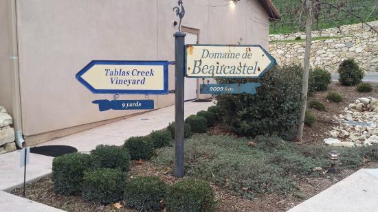 Tablas Creek Vineyard : Paso Robles or France?