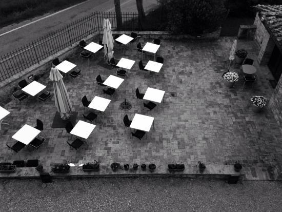 Villa Ducci : Dall'alto....