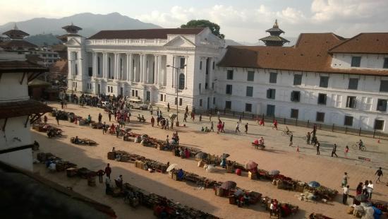 Hotel Sugat: Pohled ze střechy hotelu