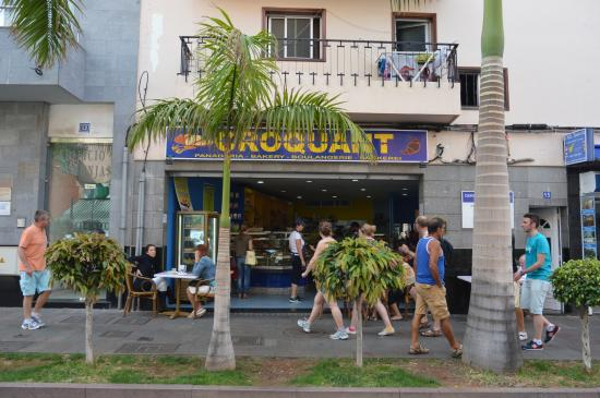 Panaderia Croquant: Our Shp In Los Cristianos