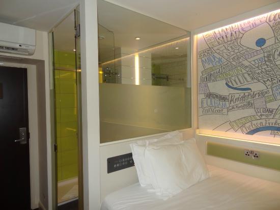 Hub By Premier Inn London Covent Garden Hotel Habitación
