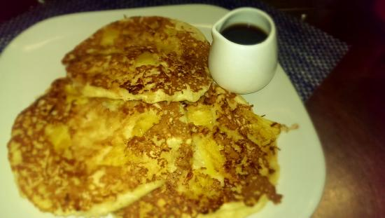 ... Cafe, Grill & Ice Cream: upside down pineapple coconut pancakes