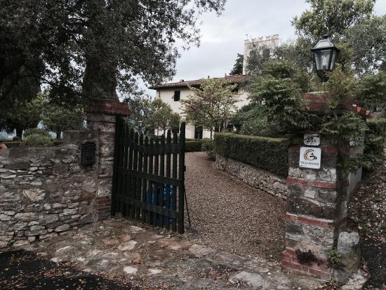 Villa Sestini: Entrata
