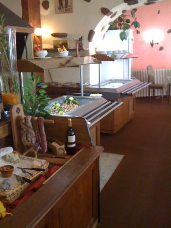 Fresnay-Sur-Sarthe, Γαλλία: BUFFETS D'ENTREES