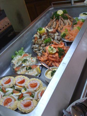 Fresnay-Sur-Sarthe, Γαλλία: BUFFET ENTREES
