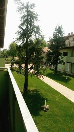 Duna Rossa Residence: Vue du balcon du chalet