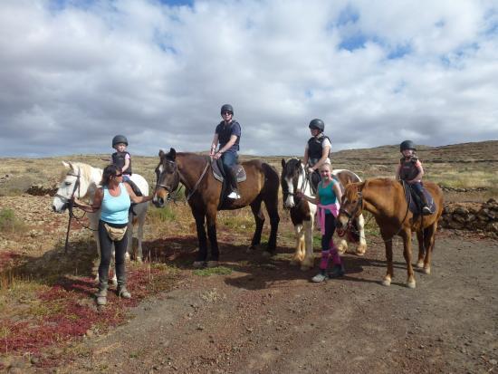 Finca Julie Horse Riding: Up the mountainside