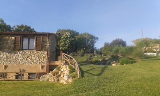 Casale di Poggioferro: giardino