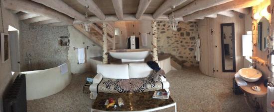 Saint-Arcons-d Allier, Frankrike: Quel confort!