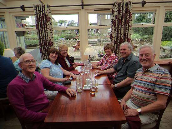 The White Horse at Woolley Moor: Happy Eaters