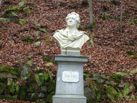 Bust of Johann Wolfgang von Goethe
