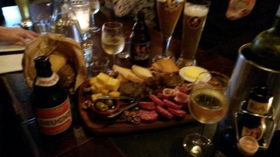 Belgisch Biercafe Boudewijn: Voorgerechten hmmm