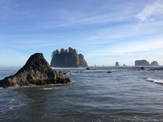 Makah Indian Reservation : The water is beautiful around here