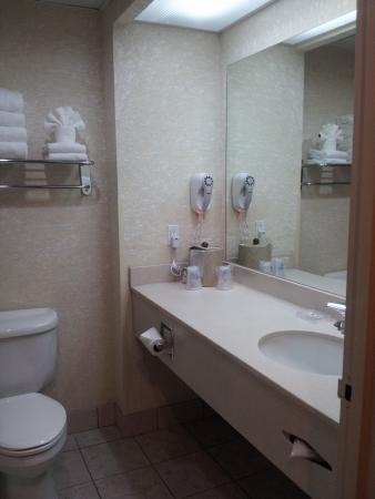 Best Western Plus Executive Inn : Best Western CLEAN BATHROOM
