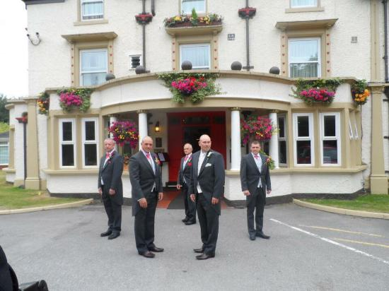 Front Of Briars Hall Picture Country House Hotel