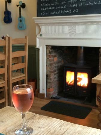 The Georgian House Restaurant: Fire and Wine