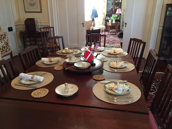 15 Church Street Bed & Breakfast - Phillips-Yates-Snowden House: Dining Room