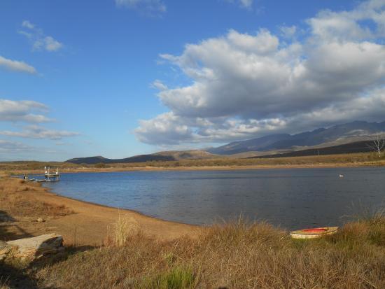 Whipstock Guest Farm: The farm dam