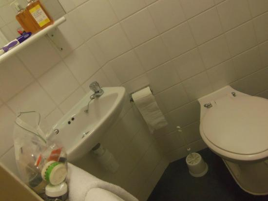 KM Central : It is a very tiny bathroom.