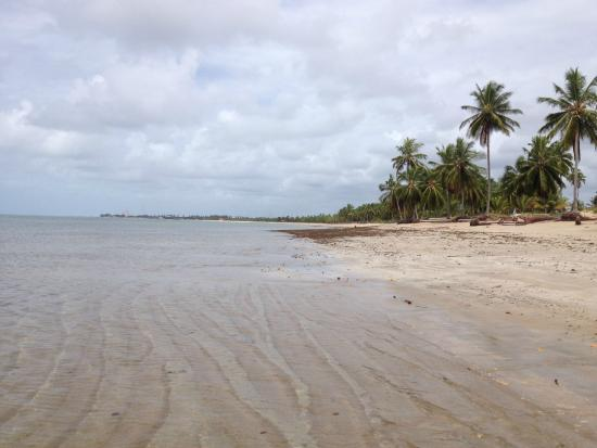 São José da Coroa Grande, PE: Já na praia