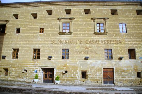 Hospedería Señorío de Casalarreina: Fachada del hotel