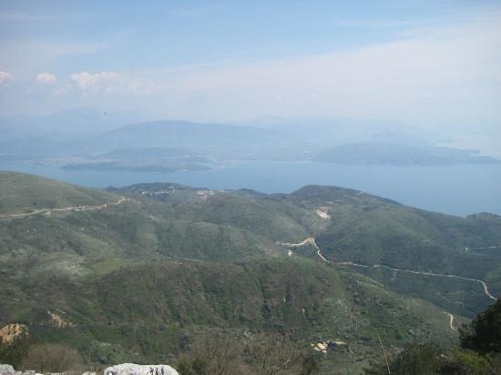 Mt. Pantokrator - the church on top - Picture of Mount ...