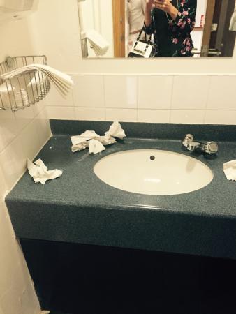 Brook Mollington Banastre Hotel & Spa: The 1 toilet men and woman