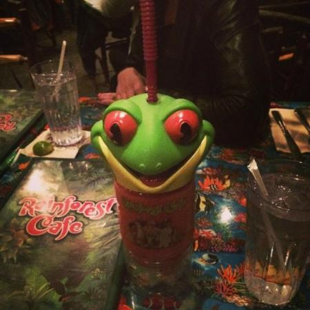 Rainforest Cafe Bar Menu