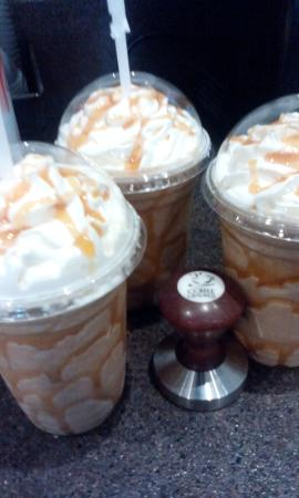Coffee Cravings : Try the Caramel Express.